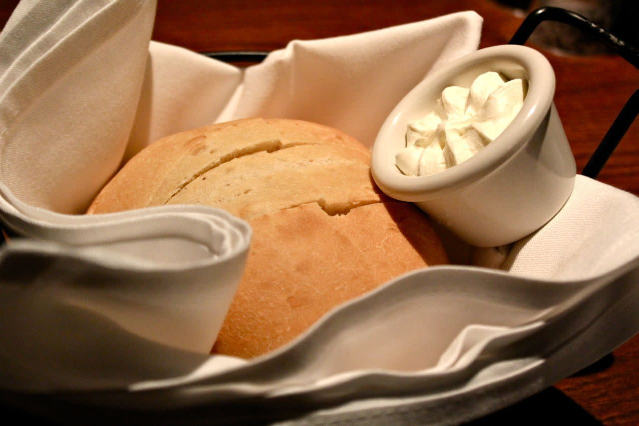 bread and butter at The Keg