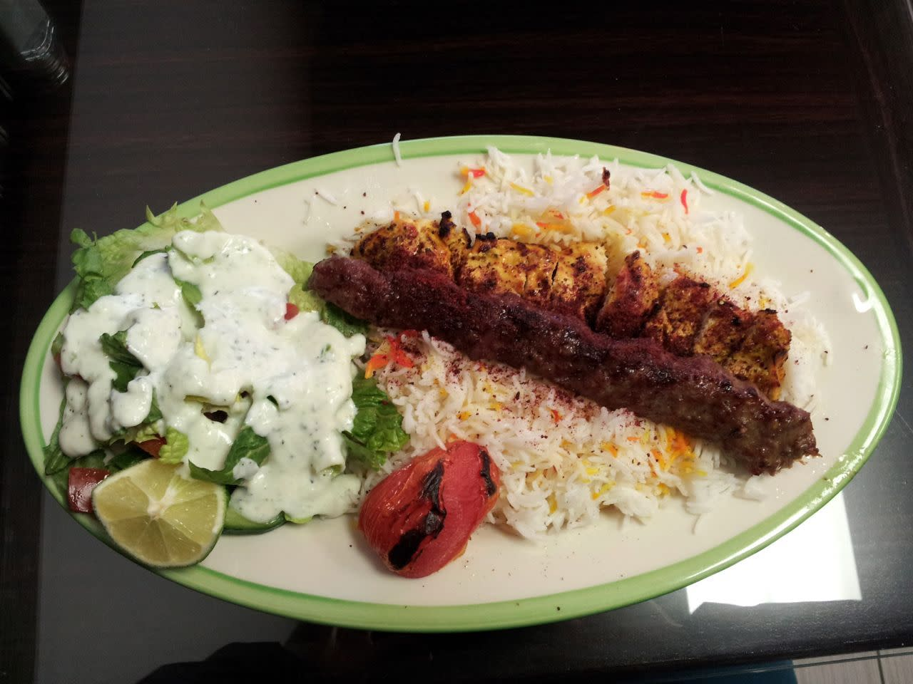 Daddy's Delight kebab meal