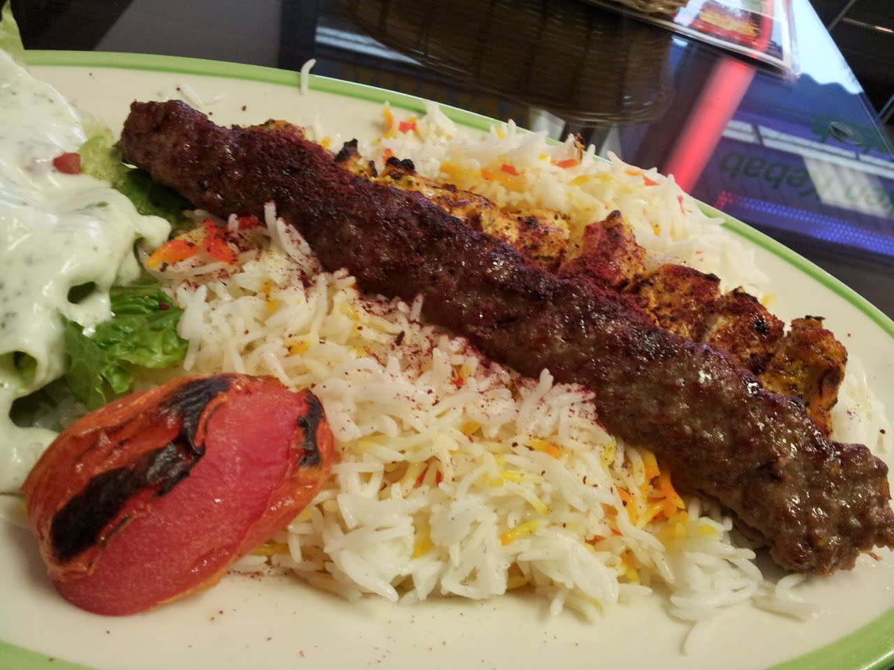 Daddy's Delight kebab