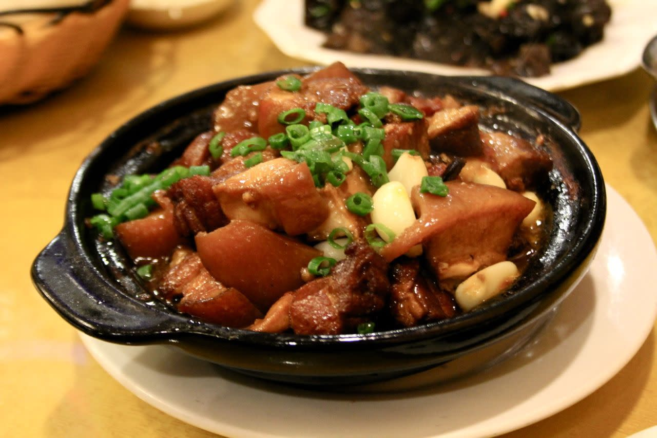 Mao's braised pork in brown sauce