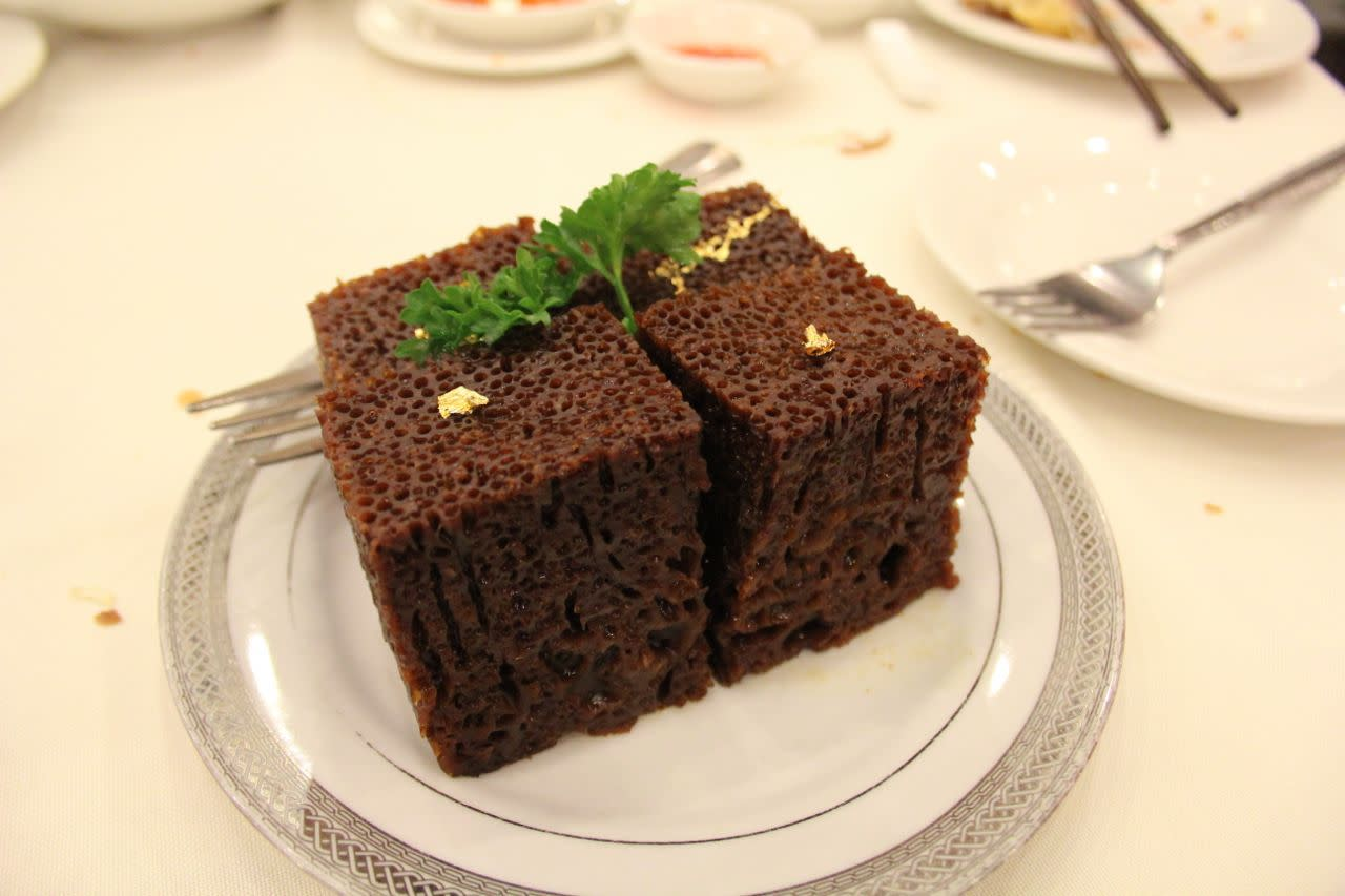 Chinese steamed cake