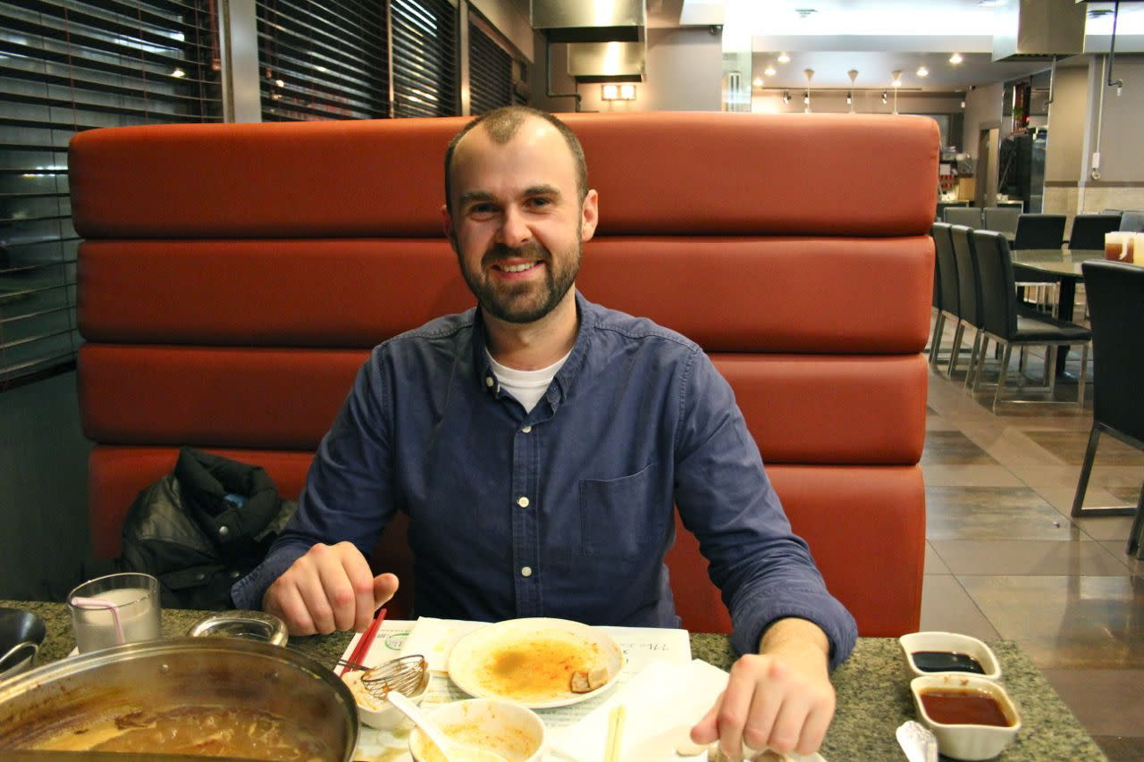 Richard at Claypot Hotpot