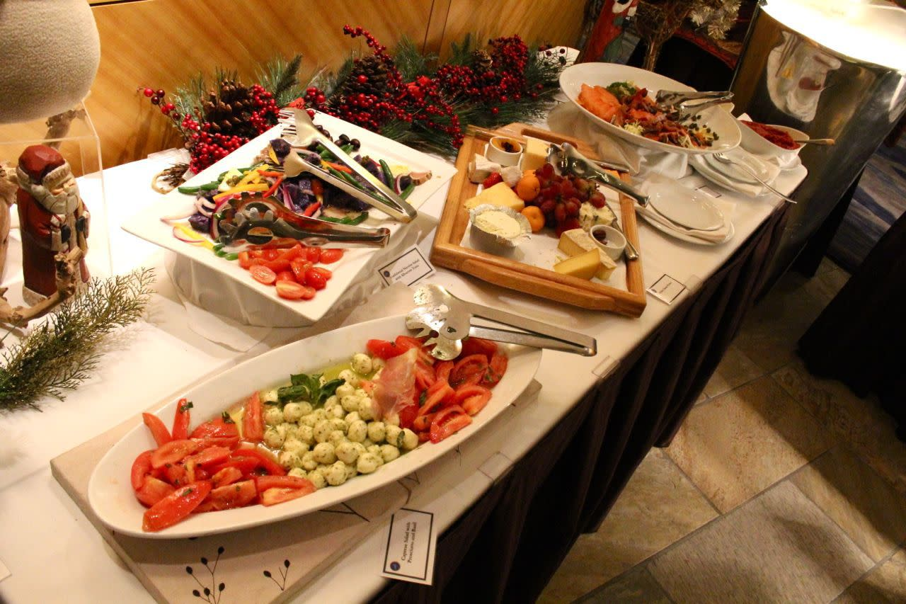 Christmas Eve buffet at Fairmont YVR