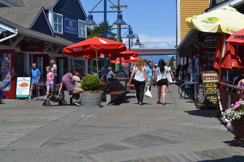 steveston fisherman's wharf