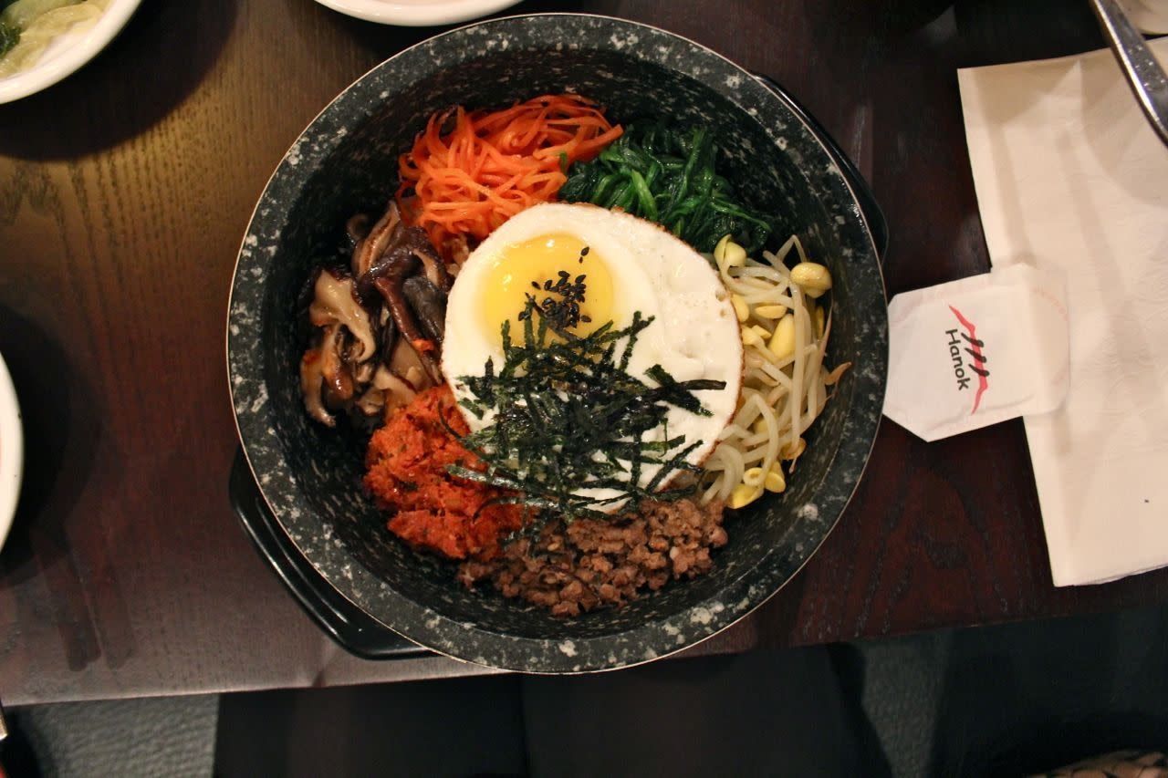 Bibimbap; Photo Credit: Lindsay Anderson