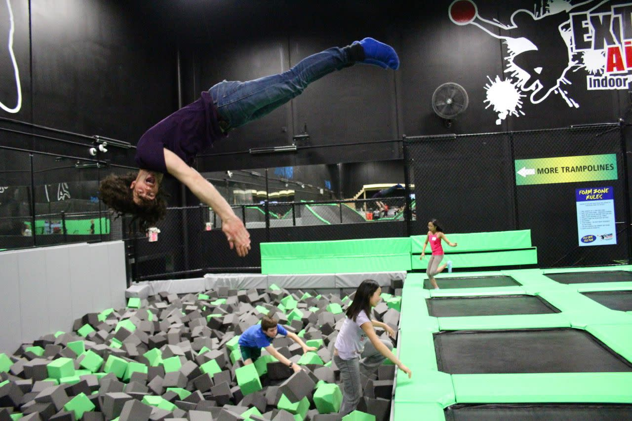 Extreme Airpark Richmond foam pit