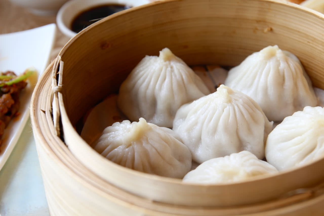 xiao long bao at Wang Shun Ge