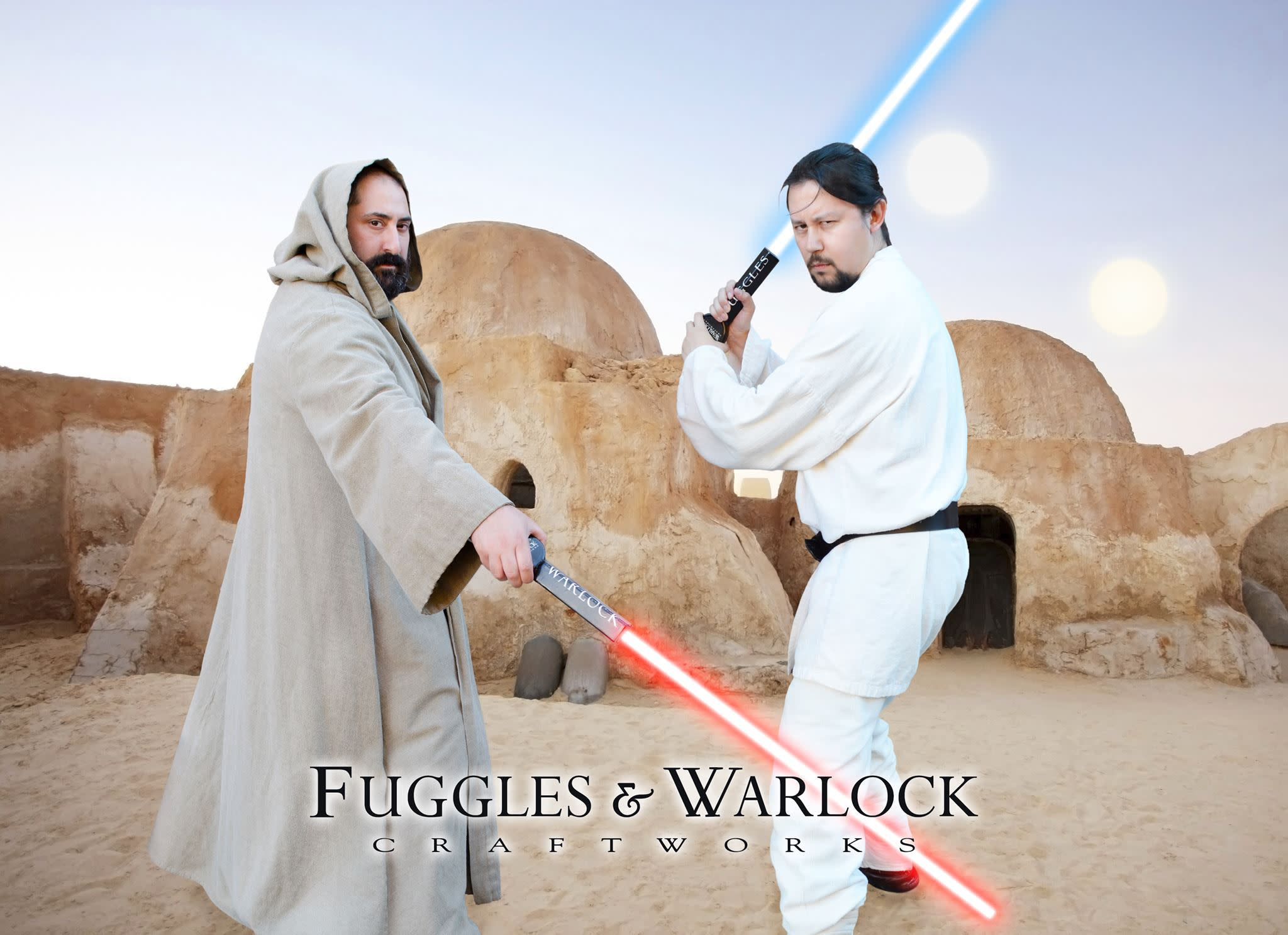 Fuggles (right) & Warlock (left); Sourced from the Fuggles & Warlock Facebook page