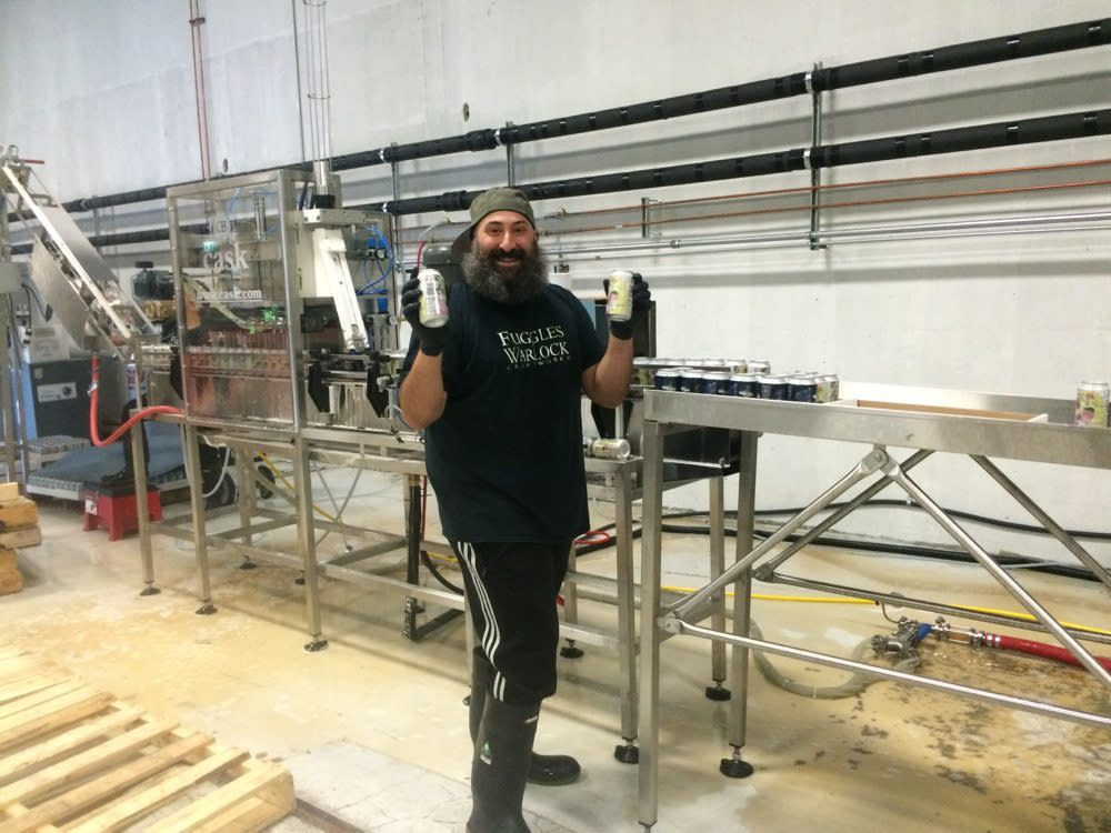Warlock in the production facility; Photo Credit: Tara Lee