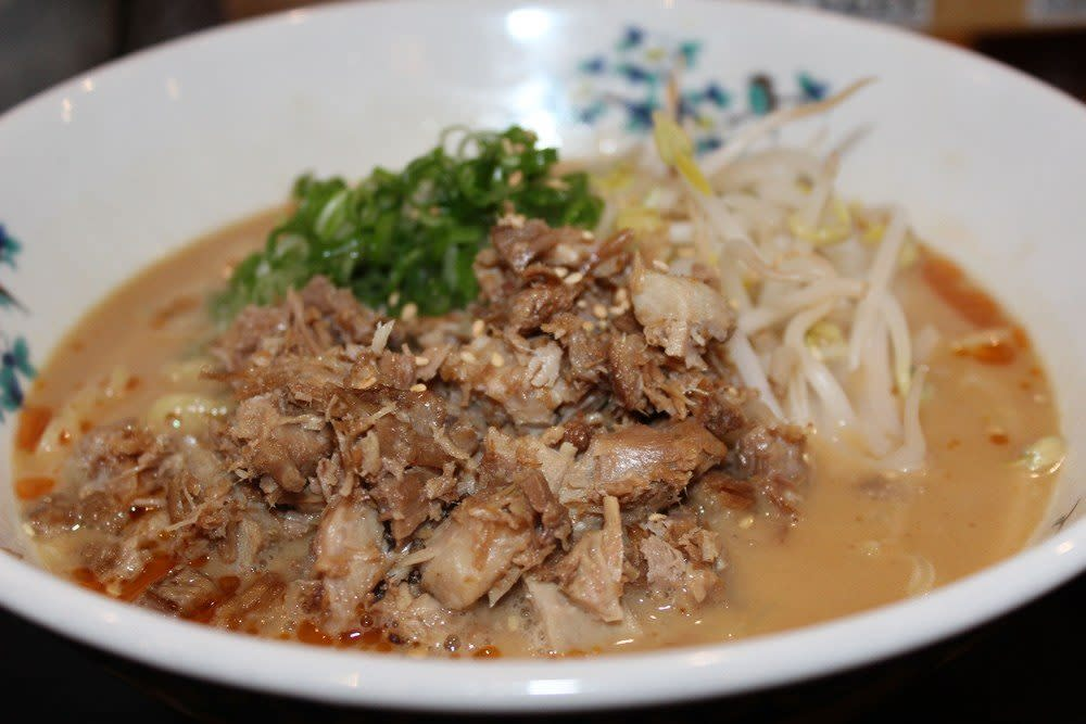 Miso ramen; Photo Credit: Tara Lee