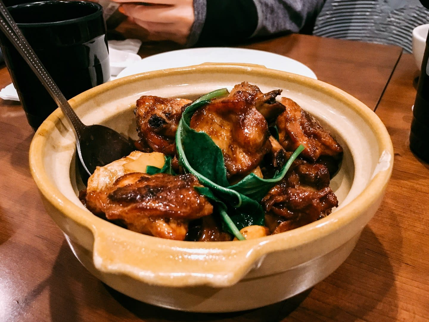 Three cup chicken; Photo Credit: Ed Lau