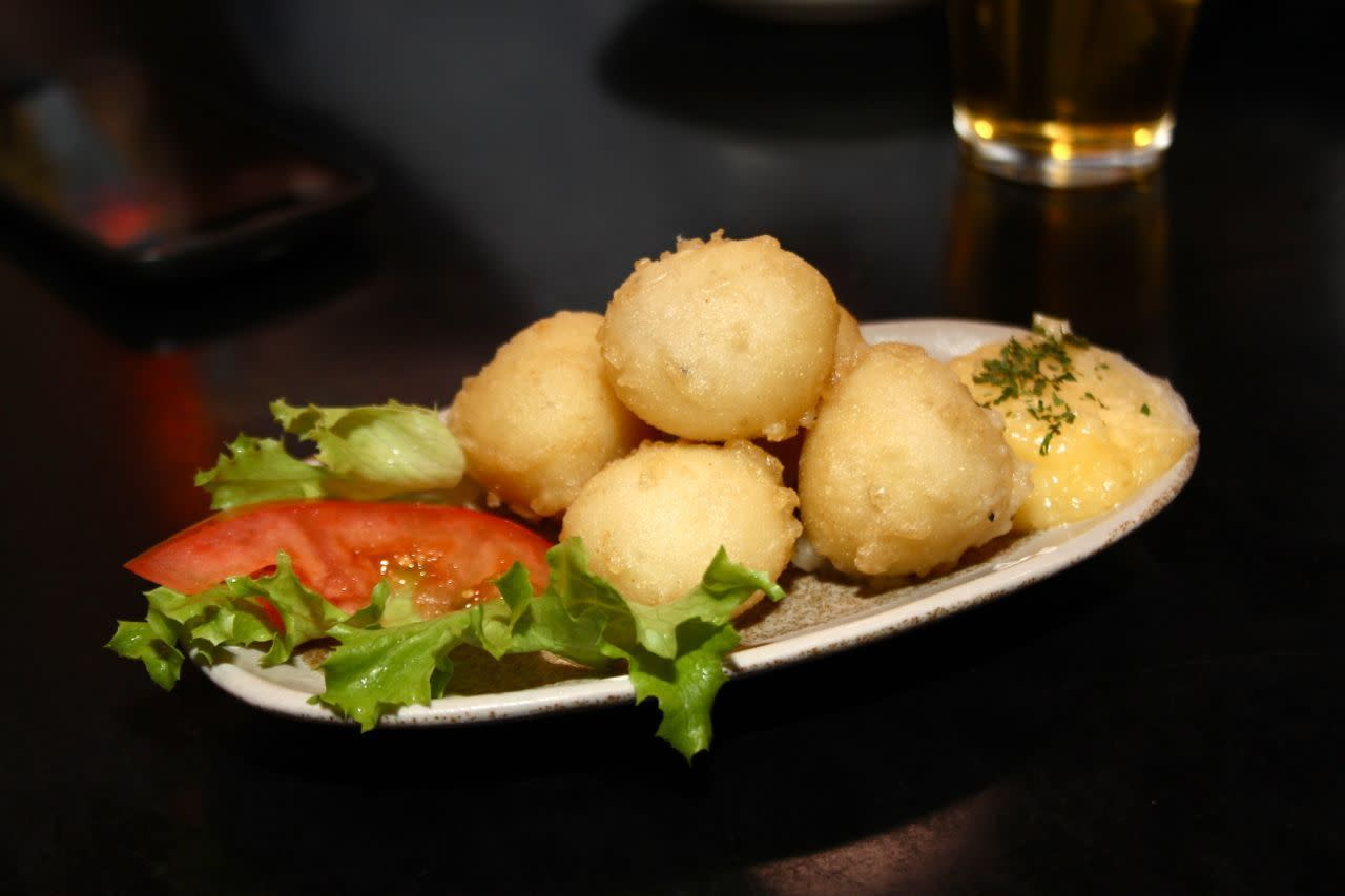 Potato balls; Photo Credit: Lindsay Anderson