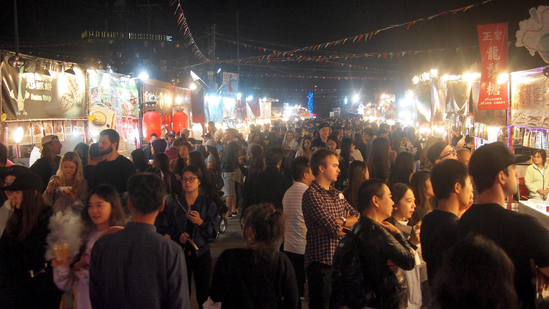 Richmond Night Market, image credit: Michael Kwan