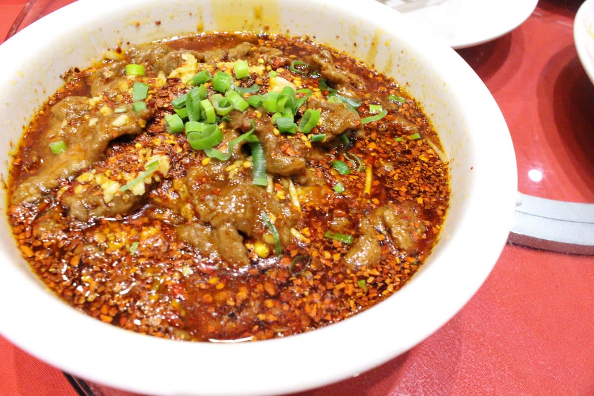 boiled beef golden sichuan