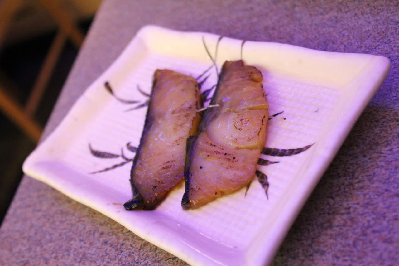 Grilled black cod at Richmond Sushi
