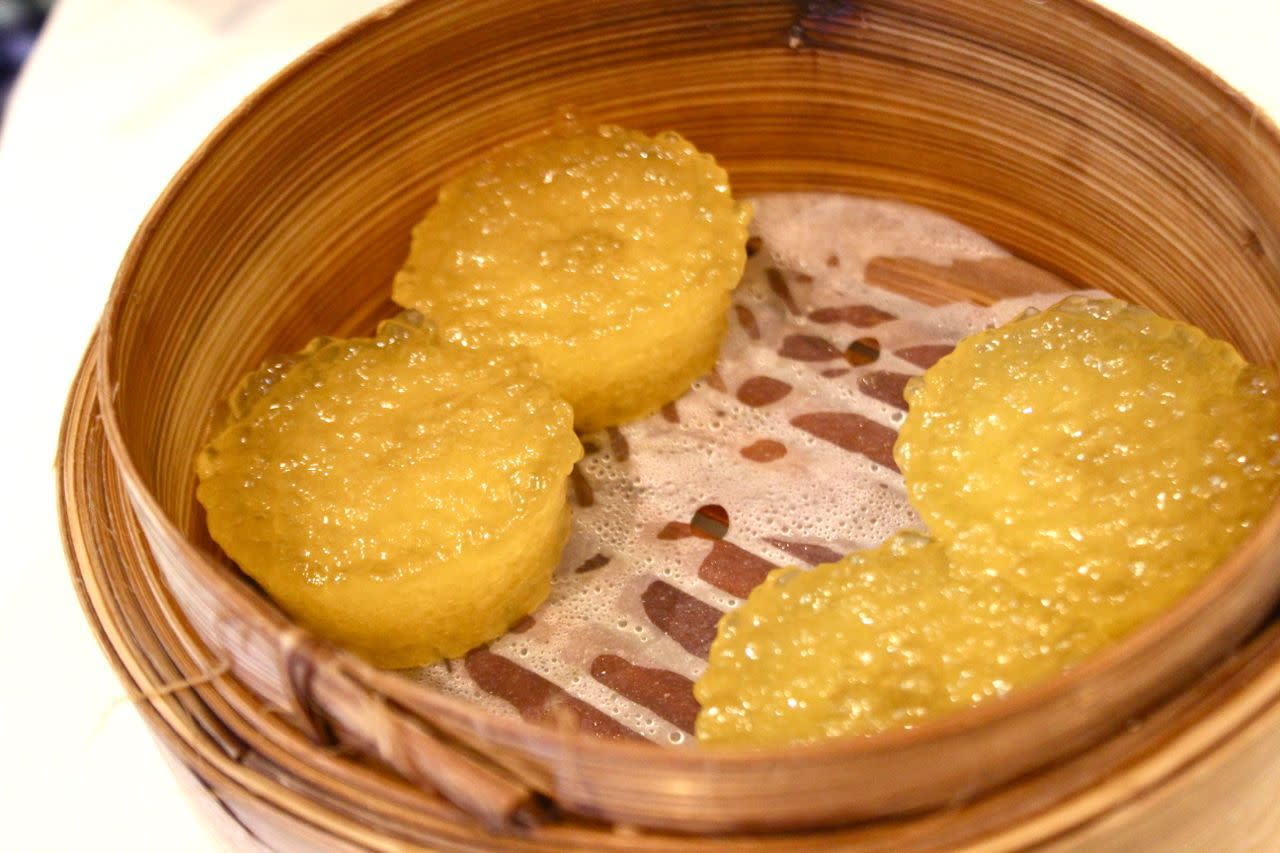Tapioca pudding at Golden Paramount Restaurant