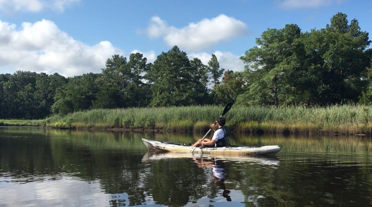 Blog - Kayaking the Great Outdoors
