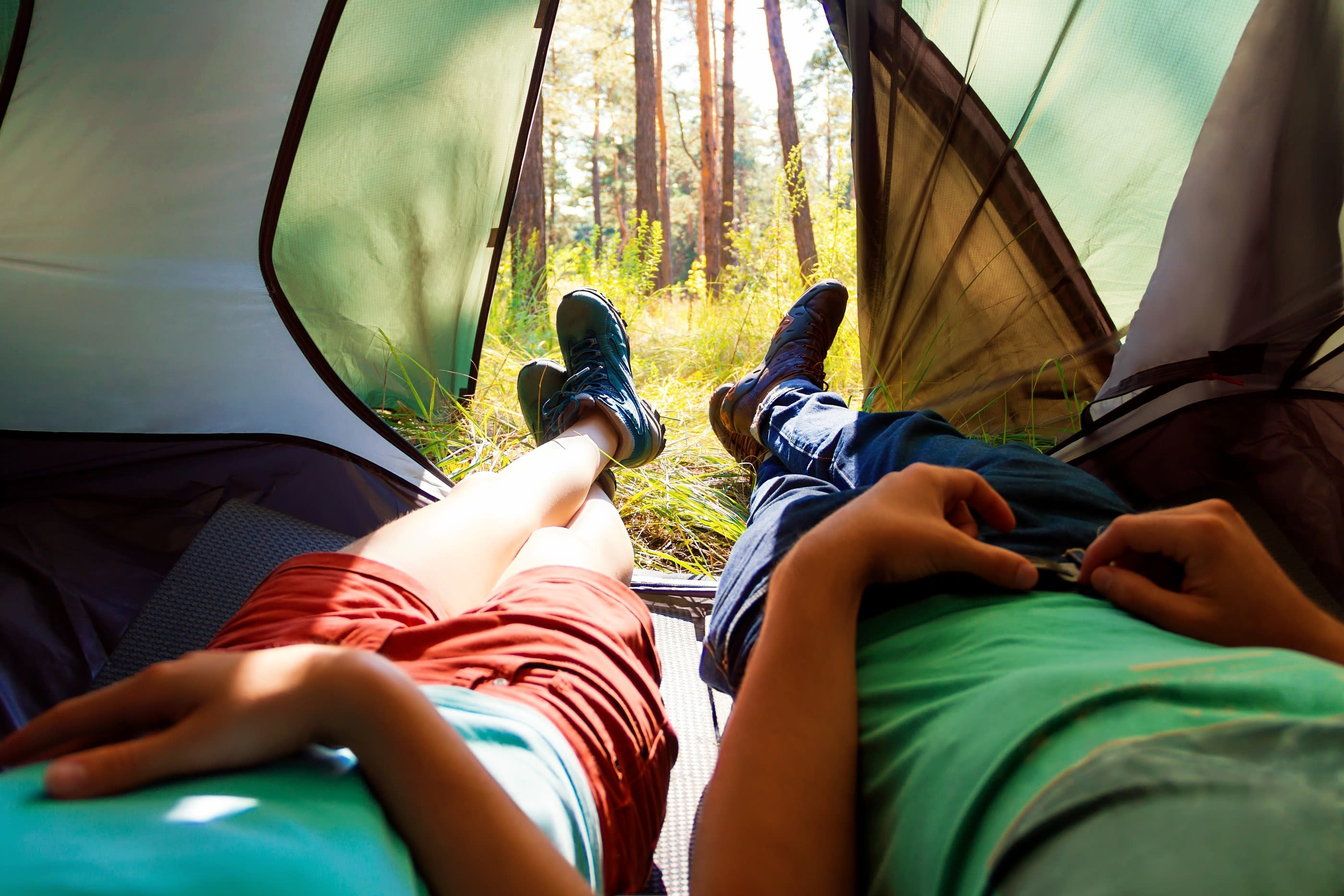 In-tent Camping