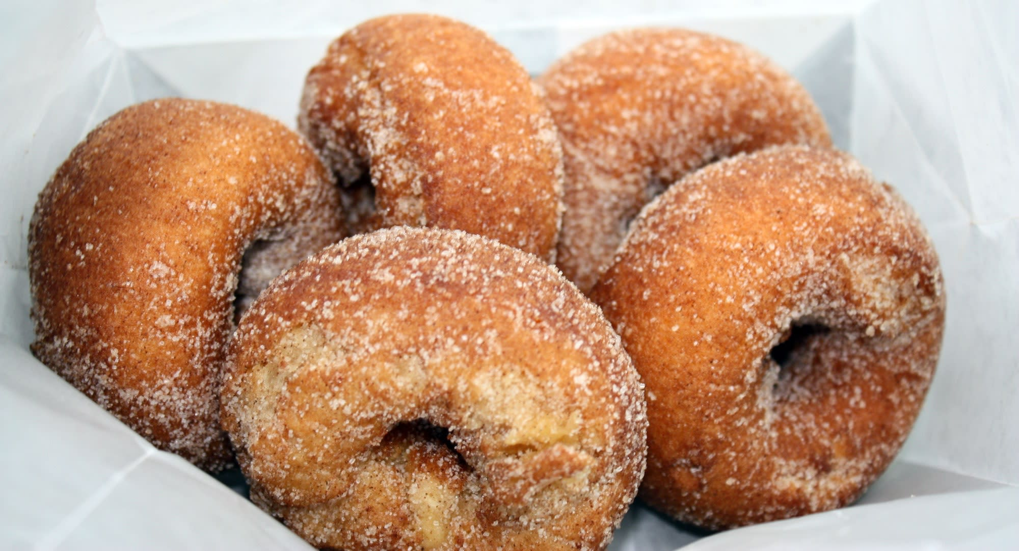 Apple cider donuts are just one fall treat from Flinchbaurg's Orchard & Farm Market