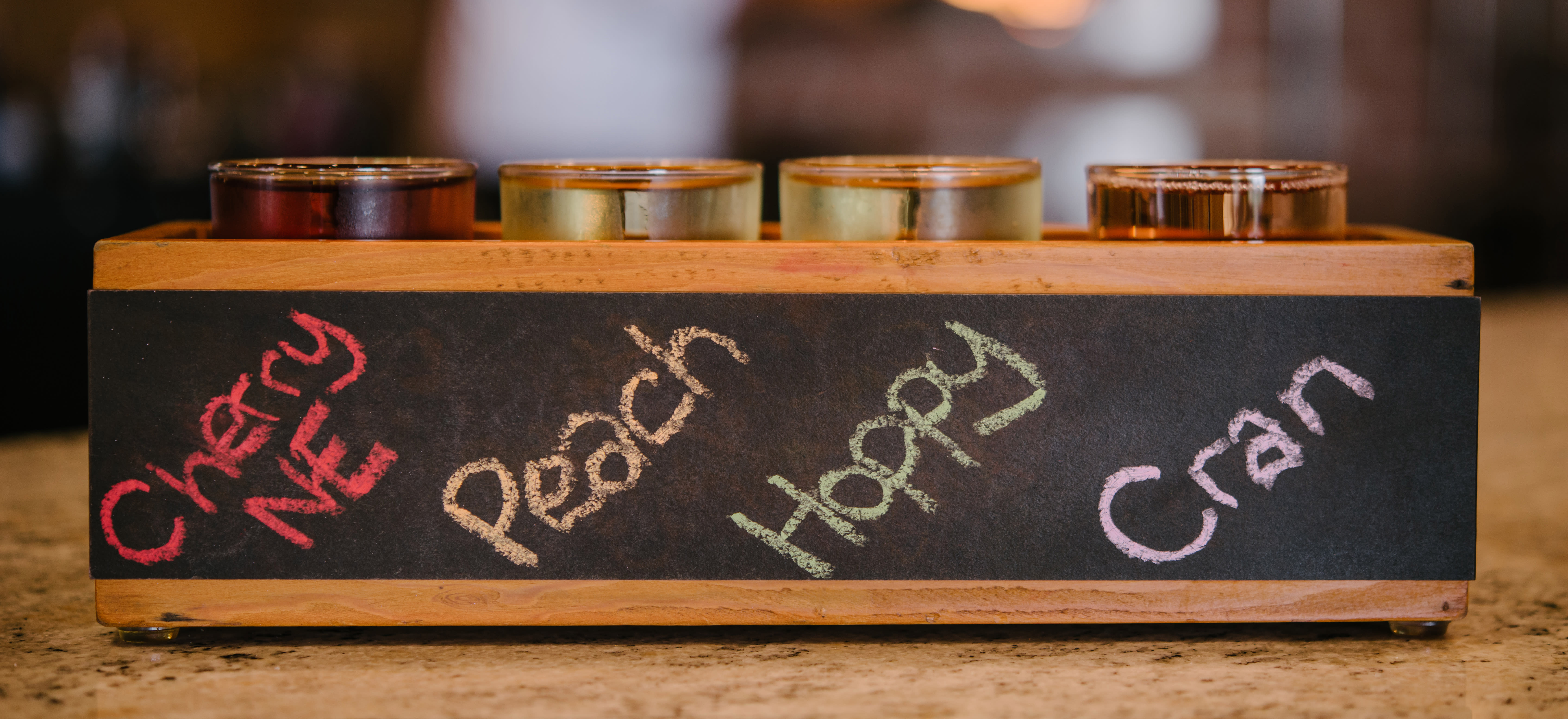 Can't decide on a cider? Try them all at Wyndridge Farms
