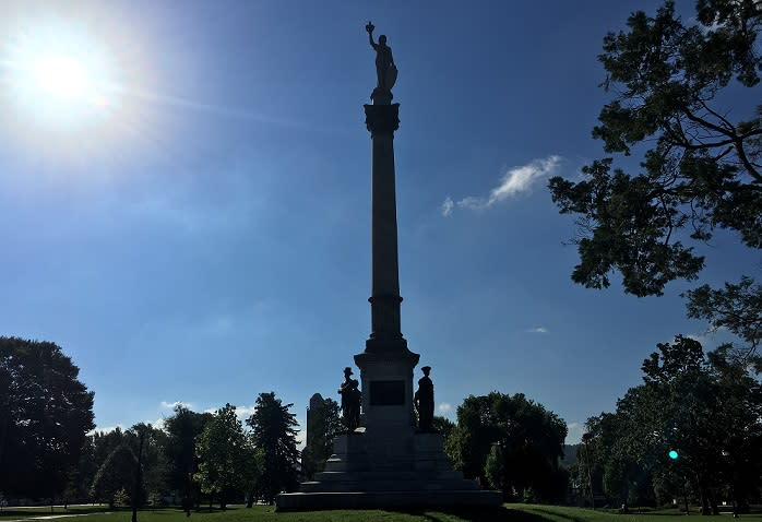York's Penn Park was home to a Civil War hospital and a bloody event from the Revolutionary War.