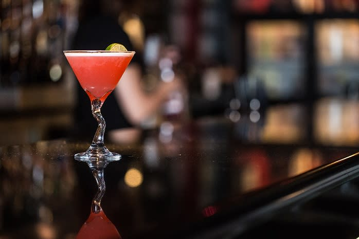 Start your night with a cocktail at The Left Bank, a downtown institution.