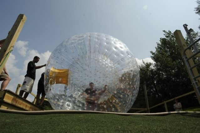 You've gotta experience the OGO balls at Roundtop Mountain Resort.