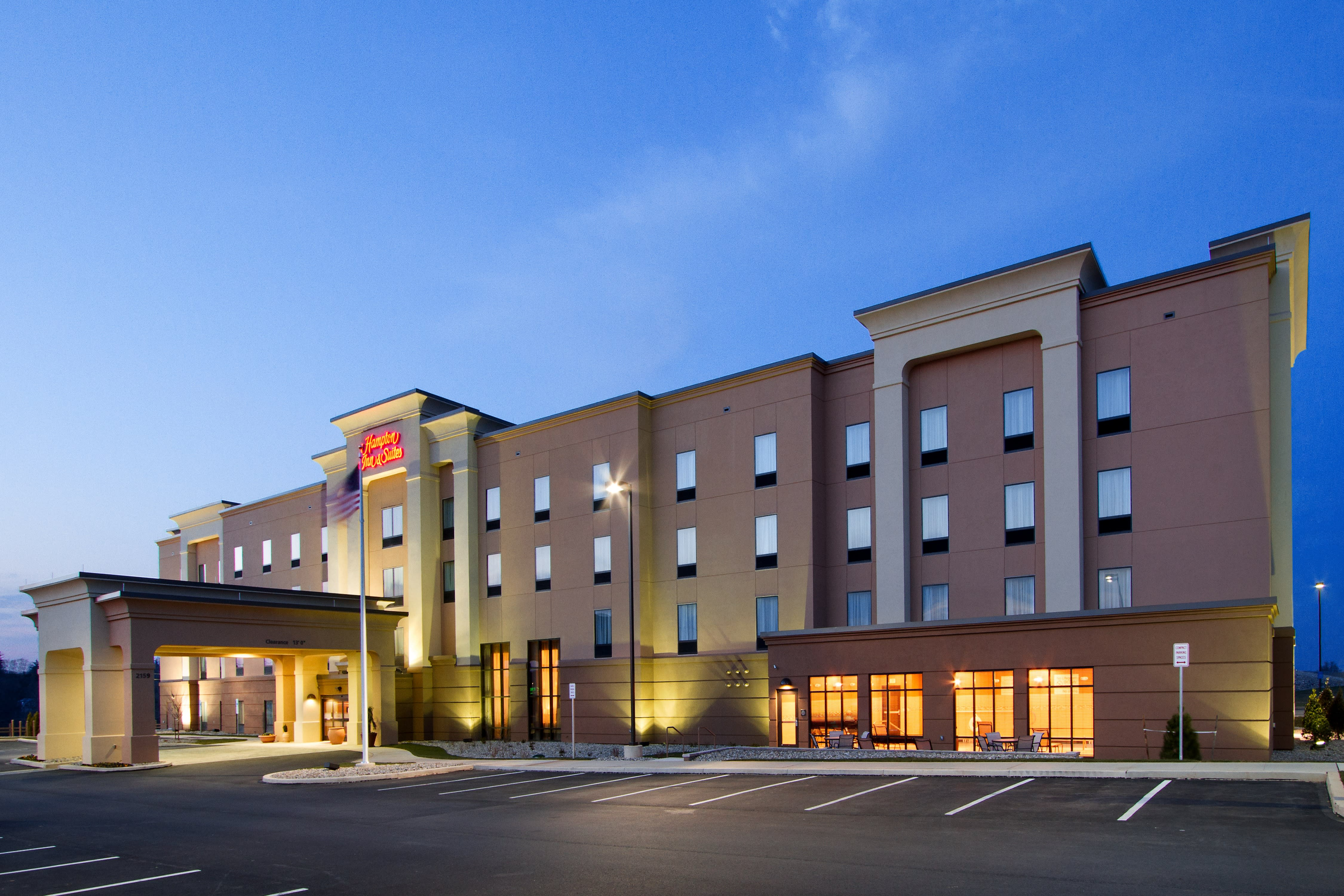 The Hampton Inn & Suites - York South is just one of many convenient lodging options for you and your guests.