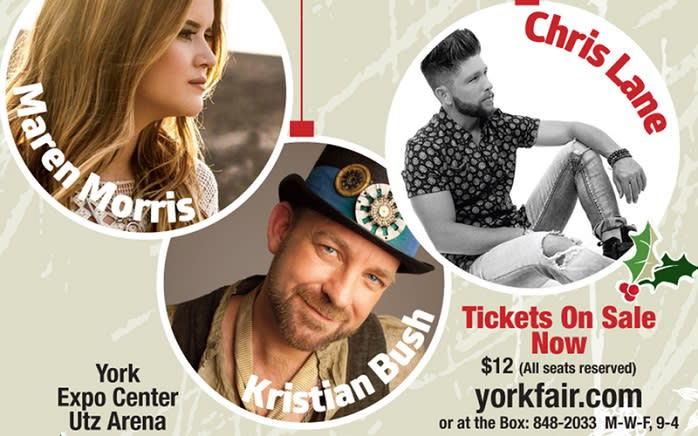 The Jingle Jam brings together a trio of country stars.