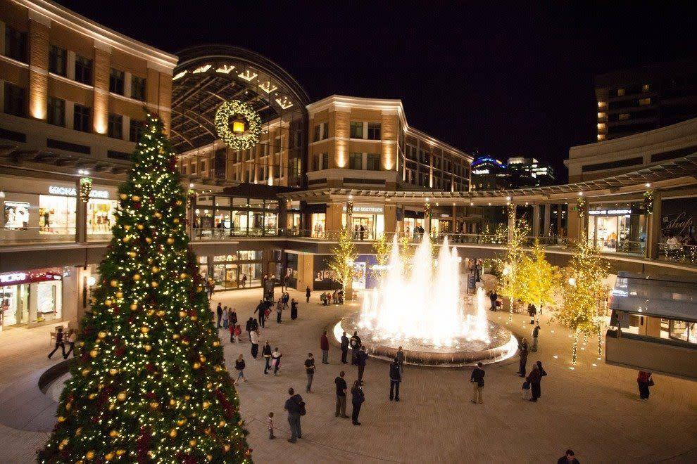 City Creek Holiday Lights