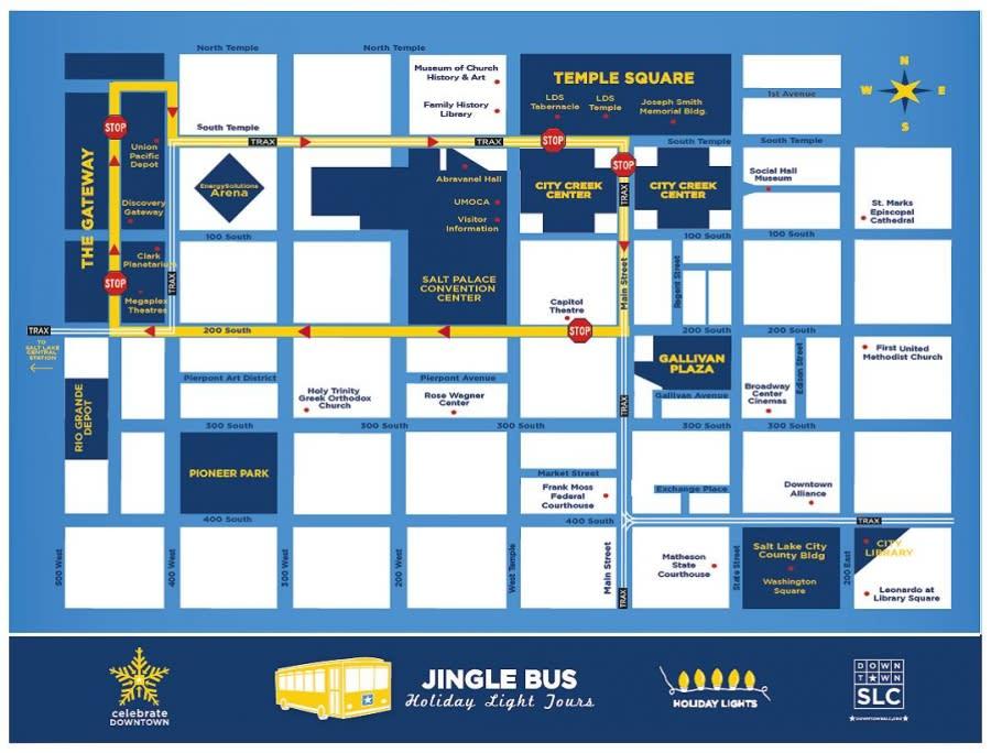 Downtown Alliance Jingle Bus