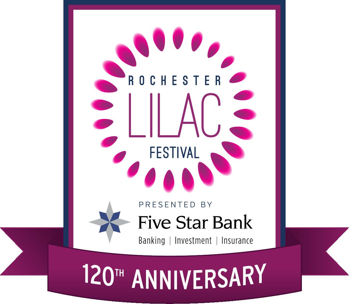 Rochester Lilac Fest 2018 Logo