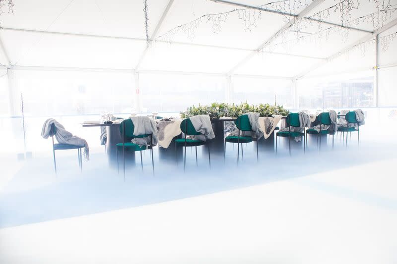 South Wharf Events - Luncheon on the Ice 2