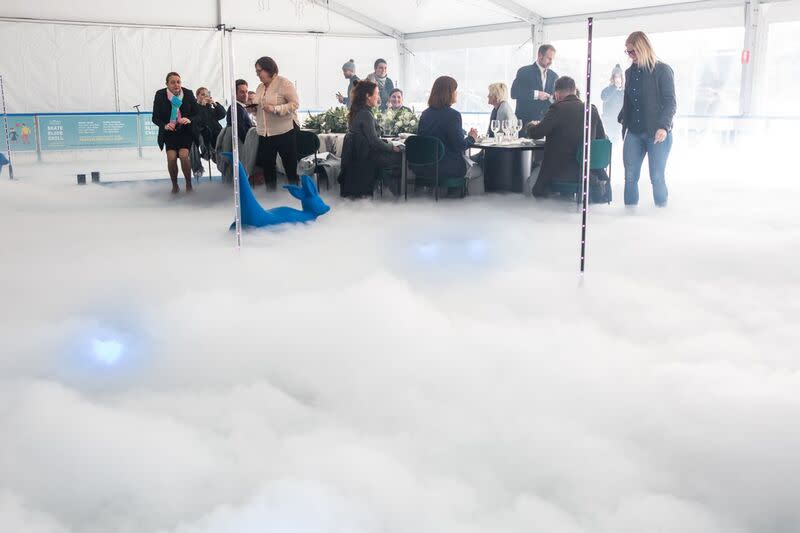 South Wharf Events - Luncheon on the Ice 4