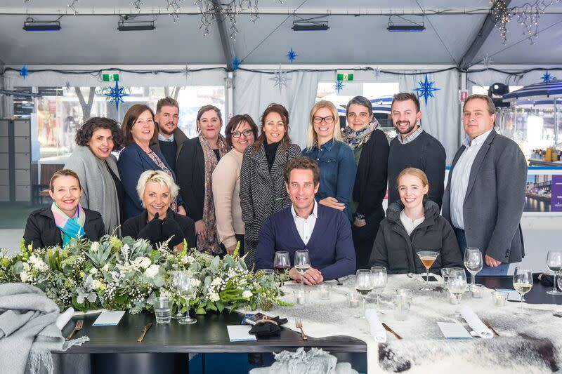 South Wharf Events - Luncheon on the Ice 6
