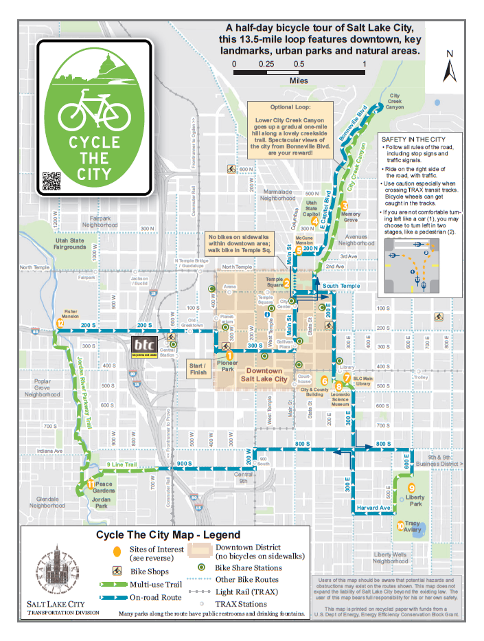 Cycle the City Map