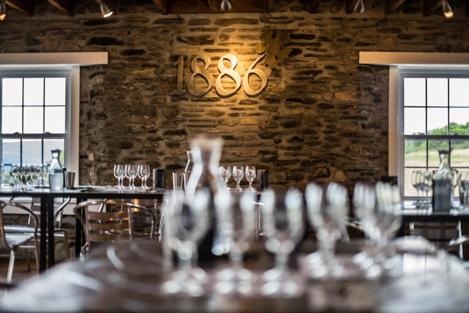 1886 Reserve Tasting Room at Dr. Konstantin Frank Wine Cellar