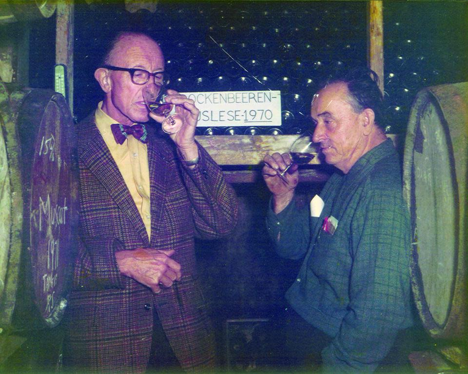 Dr. Frank and Charles Fournier