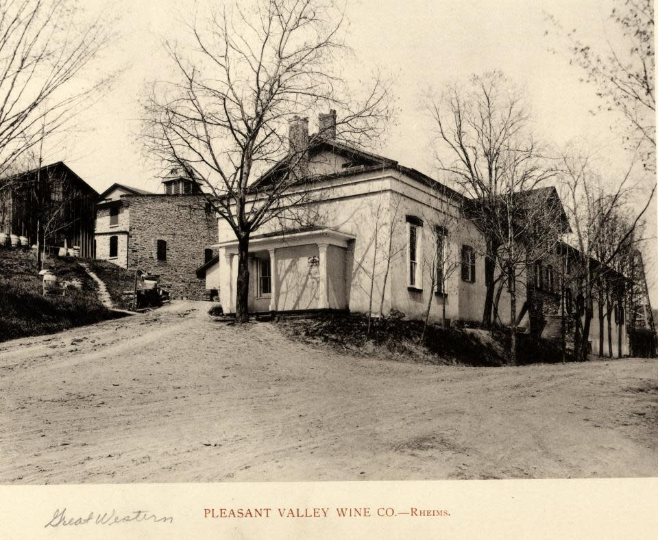 Pleasant Valley Wine Company courtesy of Steuben County Historical Society