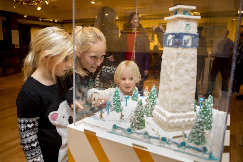Gingerbread Invitational courtesy of the Rockwell Museum