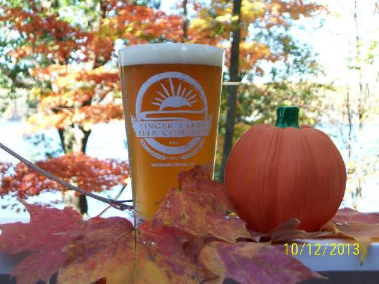 Finger Lakes Beer Company Pumpkin Beer