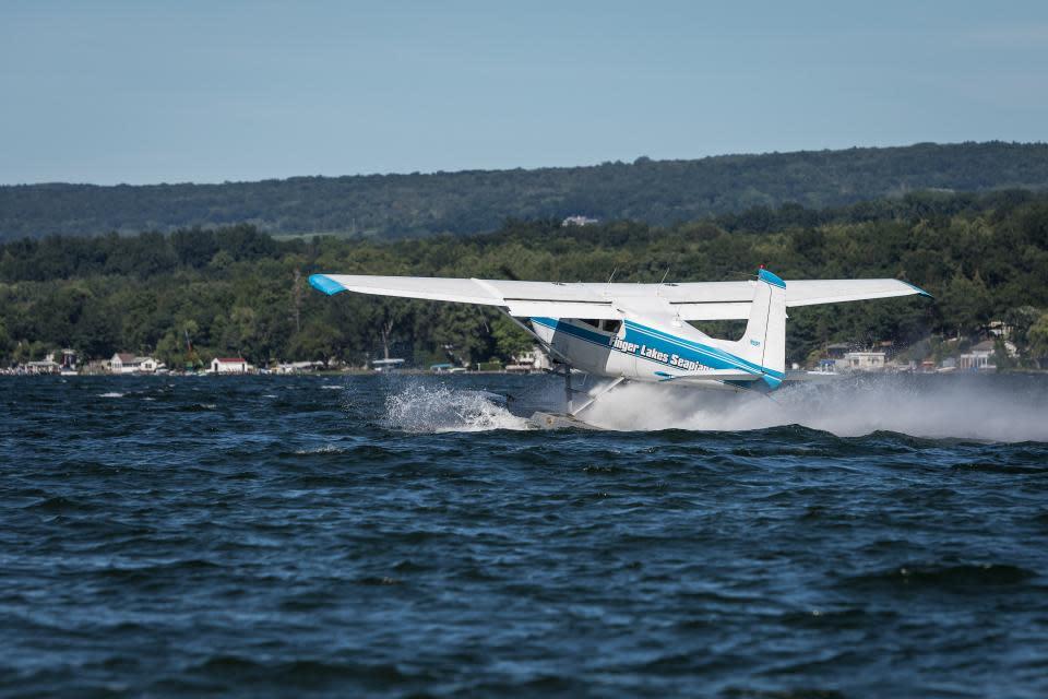 Seaplane on Keuka Lake