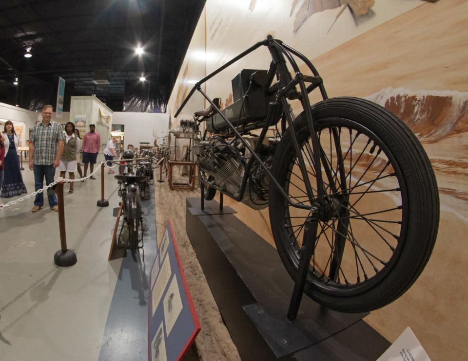 Bike at Glenn Curtiss Museum courtesy of Stu Gallagher