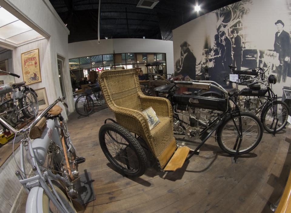 Glenn Curtiss Bikes courtesy of Stu Gallagher