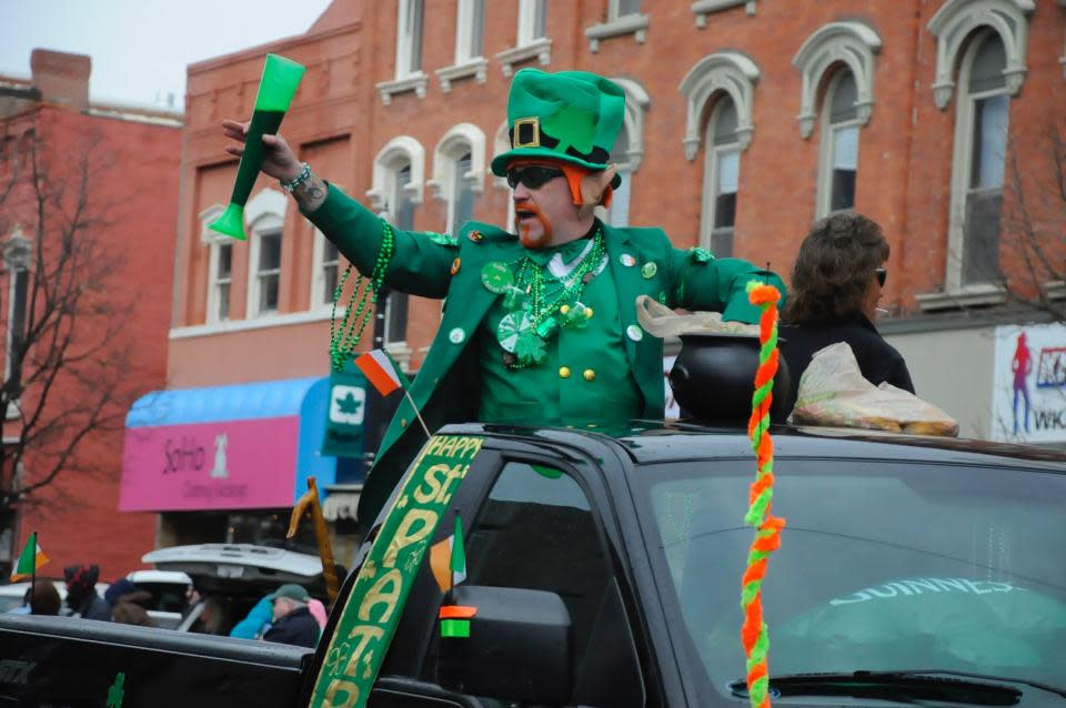 St. Patrick's Day in Hornell