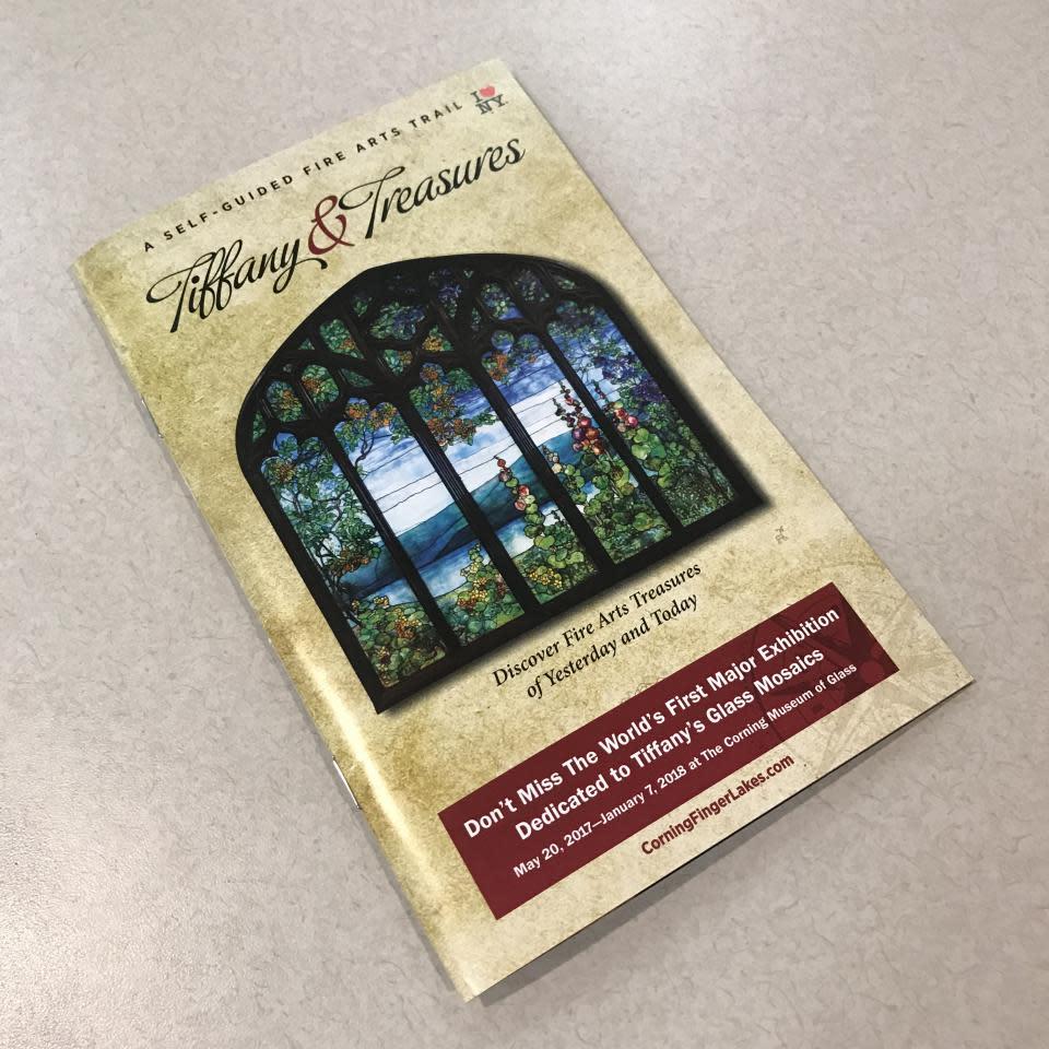 2017 Tiffany and Treasures Trail brochure