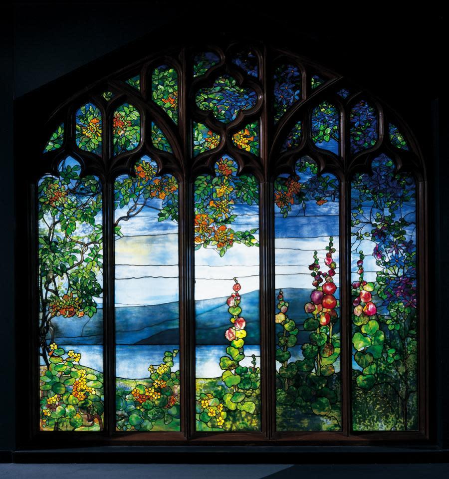 Tiffany Window courtesy of Corning Museum of Glass