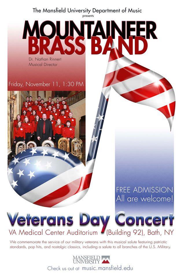 Bath VA Veterans Day Concert