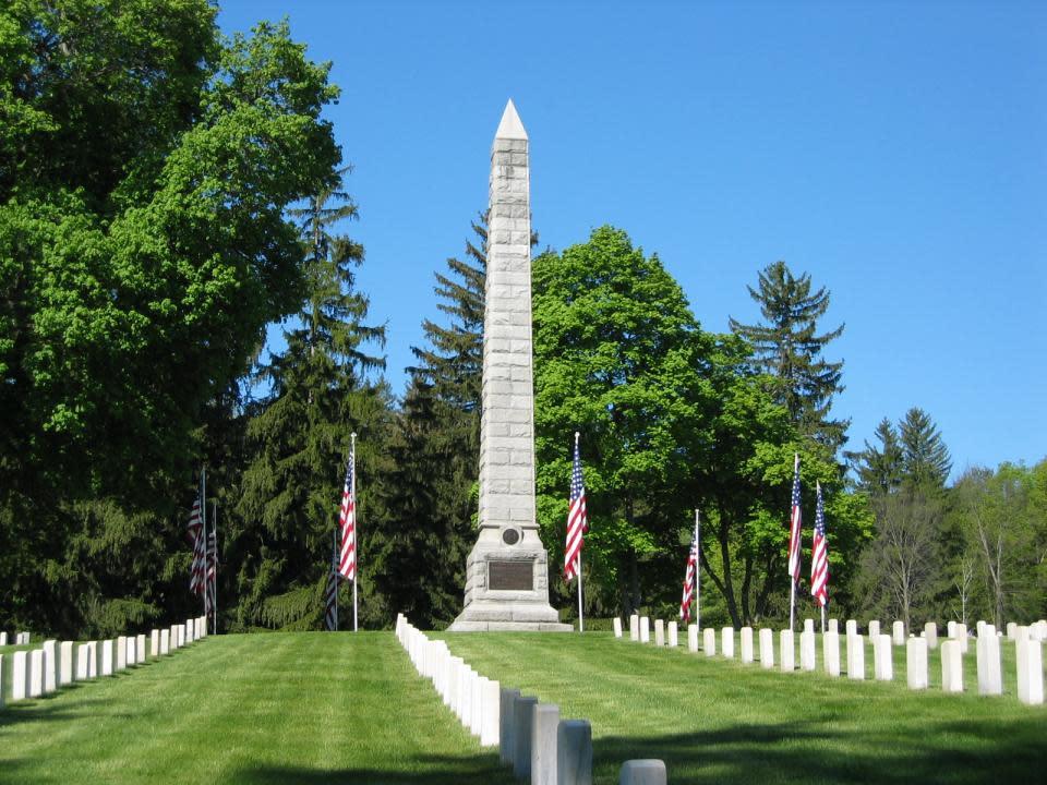 courtesy of Bath National Cemetery
