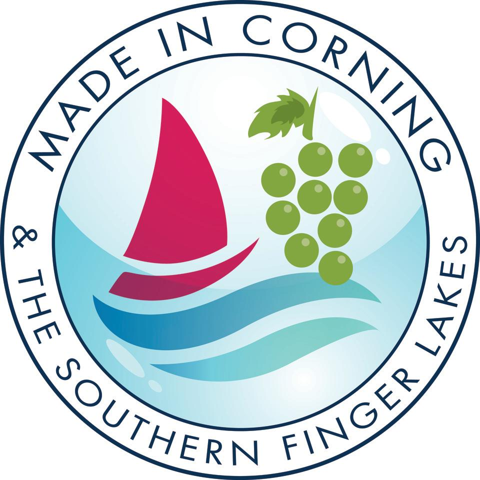 Made in Corning and the Southern Finger Lakes Logo
